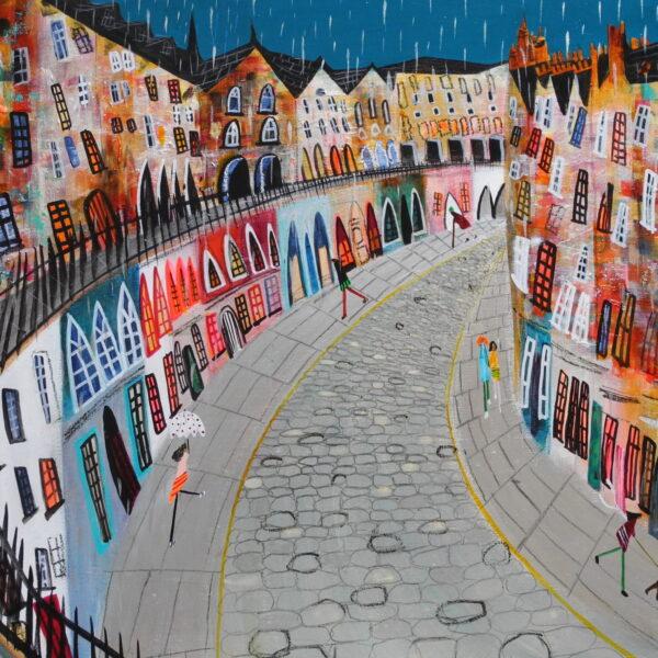 'Raining on Victoria Street'