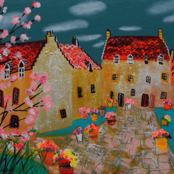 The Merchant's House, Culross' art 20cm x30cm, frame 32cm x42cm, £380